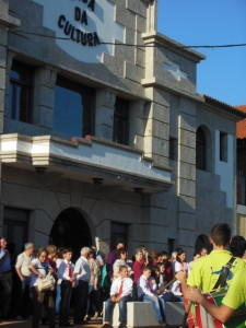 Inauguración Casa da Cultura de Tomiño