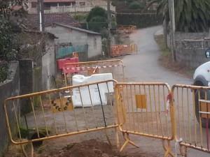 Obras saneamento Bravos 1 xaneiro 2015
