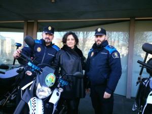 moto policia local