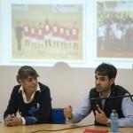 Cristina Cantero e Borja Oubiña durante a Conferencia (Copy)