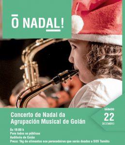 Concerto de Nadal da Agrupación Musical de Goián