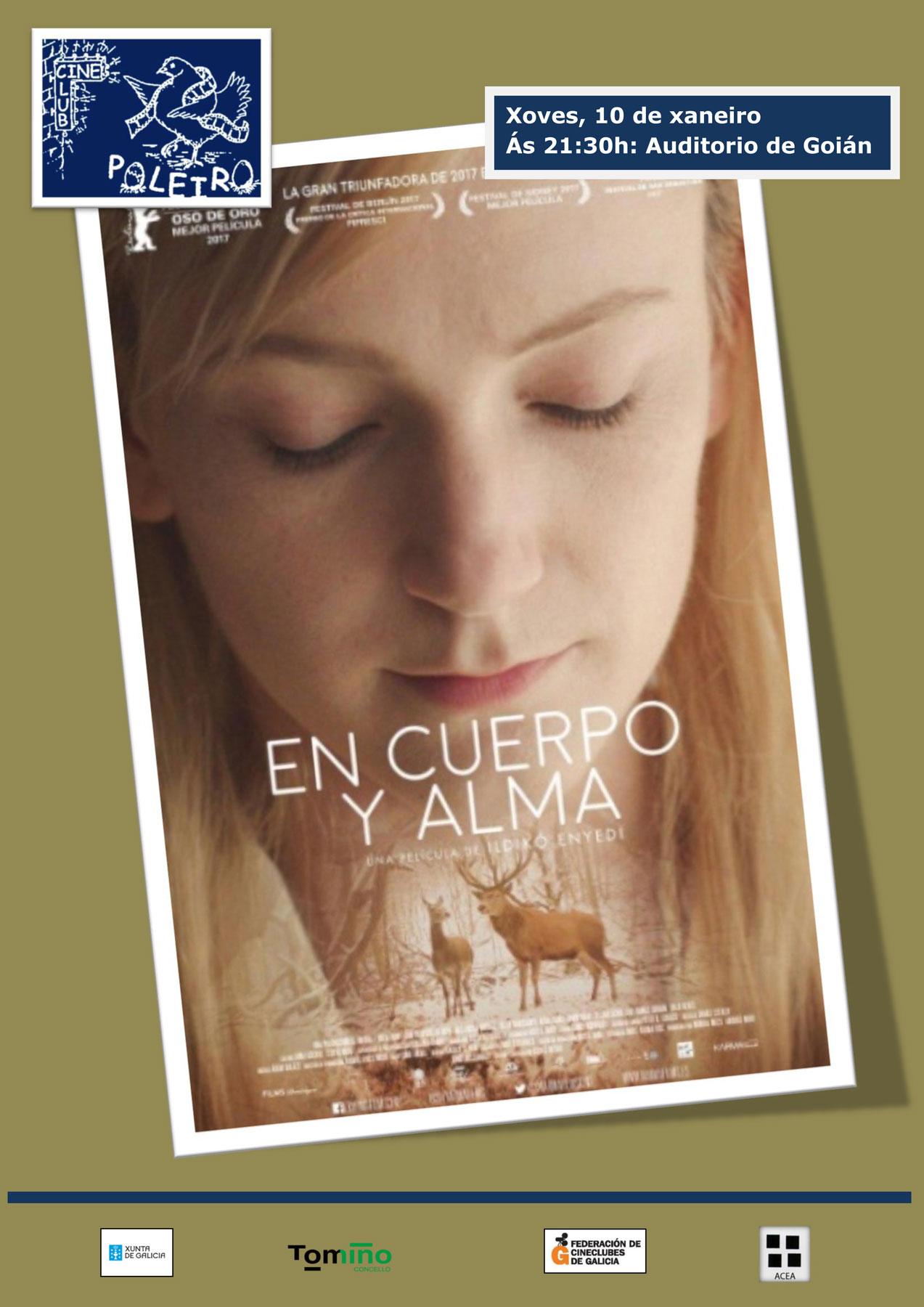 O Cineclub Poleiro proxecta 'En cuerpo y alma'