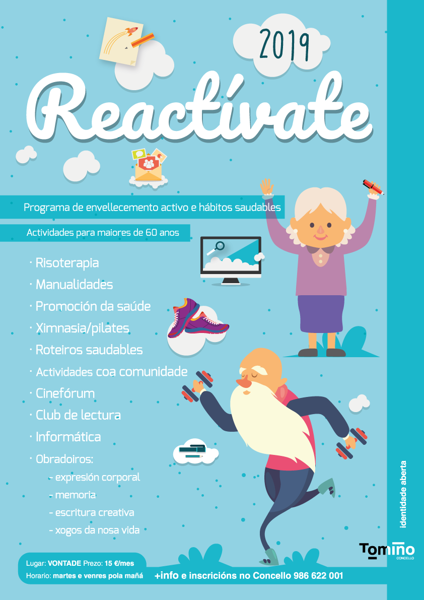 O programa Reactívate arranca con máis dunha ducia de actividades de envellecemento activo