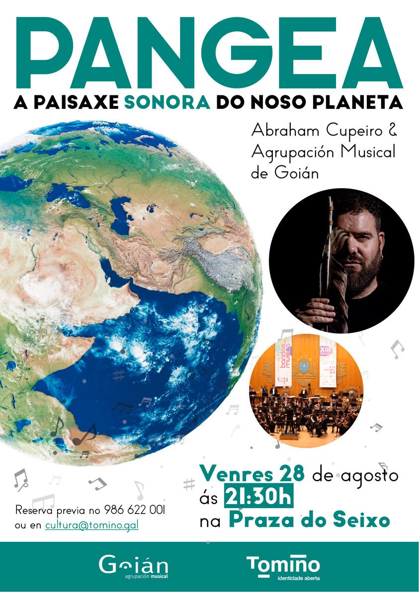 'Pangea', o concerto de Abraham Cupeiro e a Banda de Goián na Praza do Seixo
