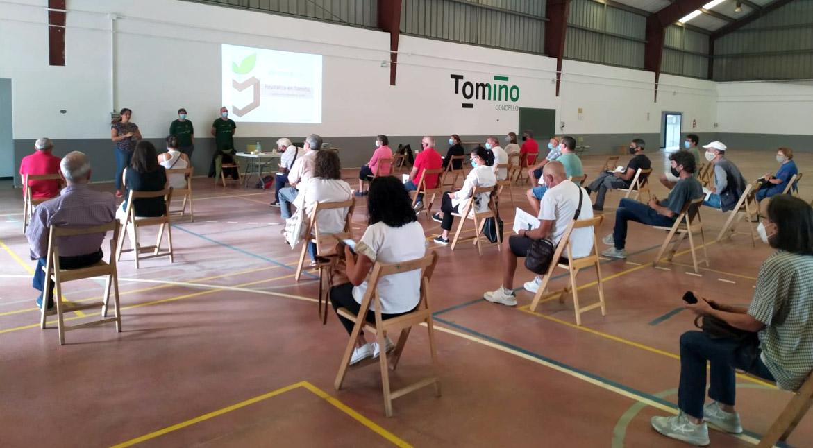 Tomiño continúa ampliando a súa rede de compostaxe para unha mellora na xestión do lixo