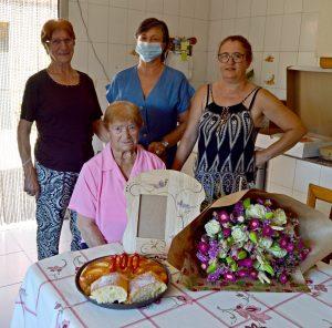 A centenaria tomiñesa Sara Portas