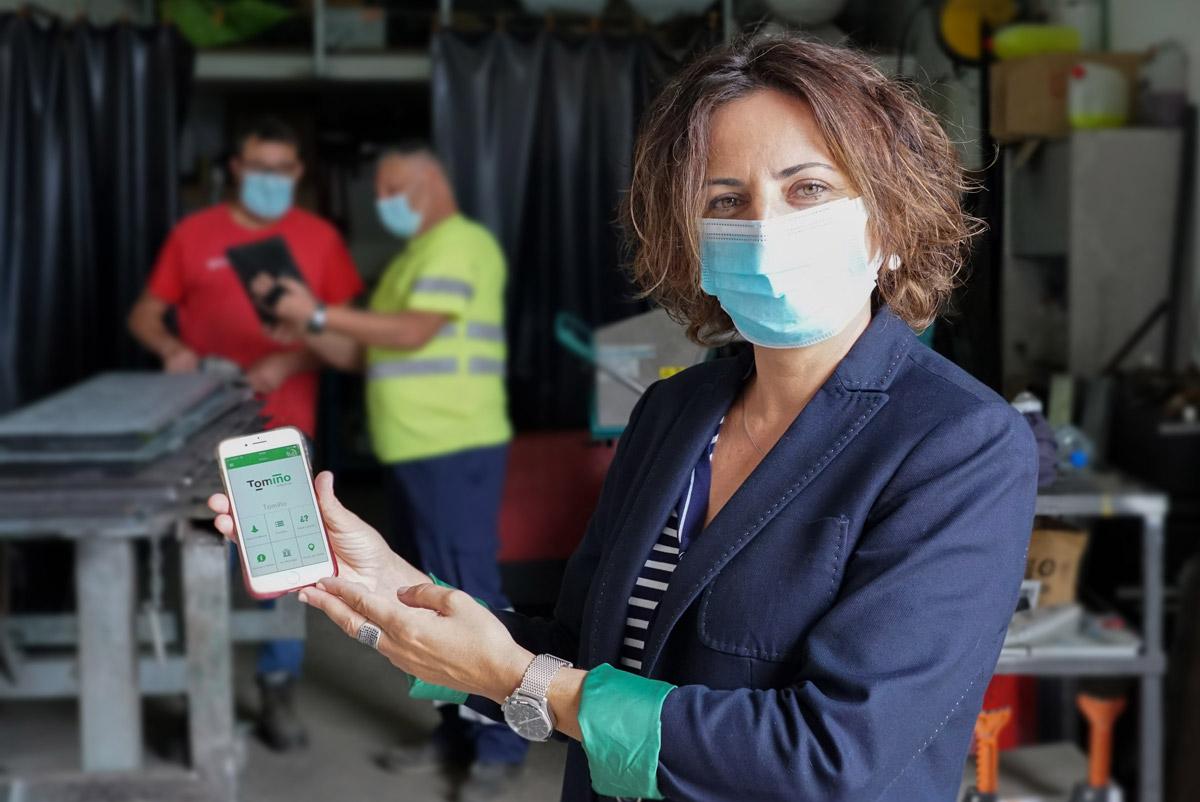 Tomiño supera as 1.000 incidencias resoltas a través da súa app Liña Verde