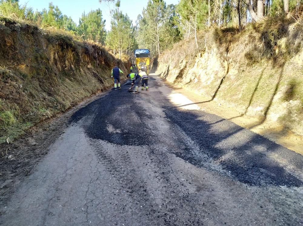 Tomiño continúa coas obras de mellora dos seus camiños municipais